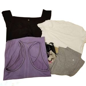 Lululemon Size 8 Clothing Lot of 4 READ